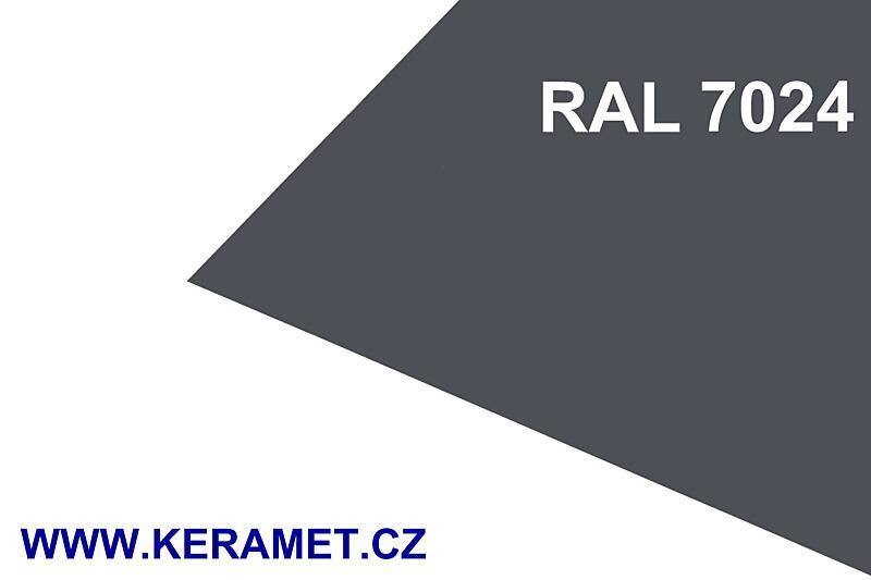 0,60 x 1000 x 2000 mm - Al lakovaný RAL 7024/7024
